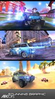 Overload 3D MOBA Car Shooting 3