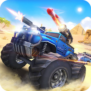 Overload 3D MOBA Car Shooting logo