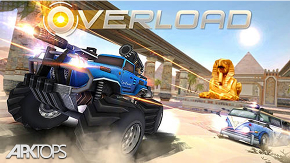دانلود Overload: 3D MOBA Car Shooting