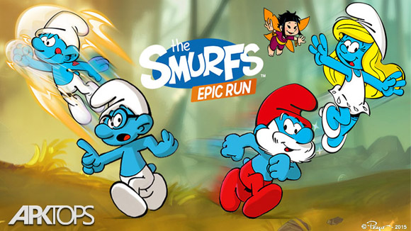دانلود Smurfs Epic Run
