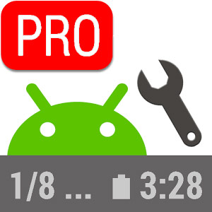 Status Bar Mini PRO v1.0.199 دانلود برنامه سفارشی کردن نوار وضعیت گوشی اندروید