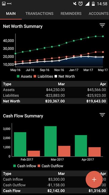 Bluecoins- Finance And Budget Premium v204.26.03 Unlocked دانلود برنامه مدیریت حساب های شخصی