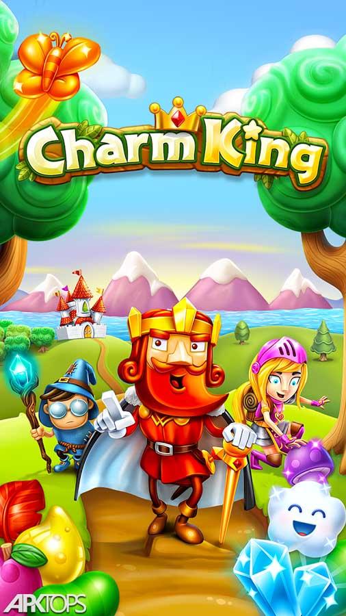 Charm King v5.5.0 دانلود بازی پازلی افسون پادشاه برای اندروید