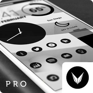 Dark Void Pro – Black Theme v2.3.1 دانلود تم اختصاصی سیاه برای ...