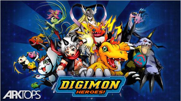 دانلود Digimon Heroes