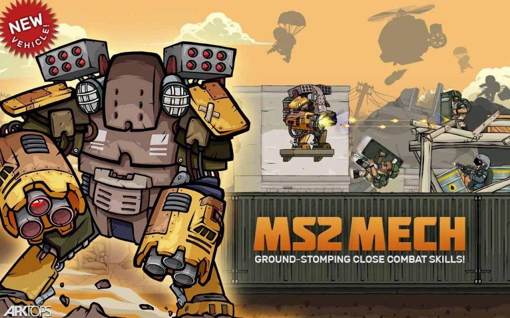 Metal Soldiers 2 v2.22 دانلود بازی سربازان آهنی 2 + مود اندروید