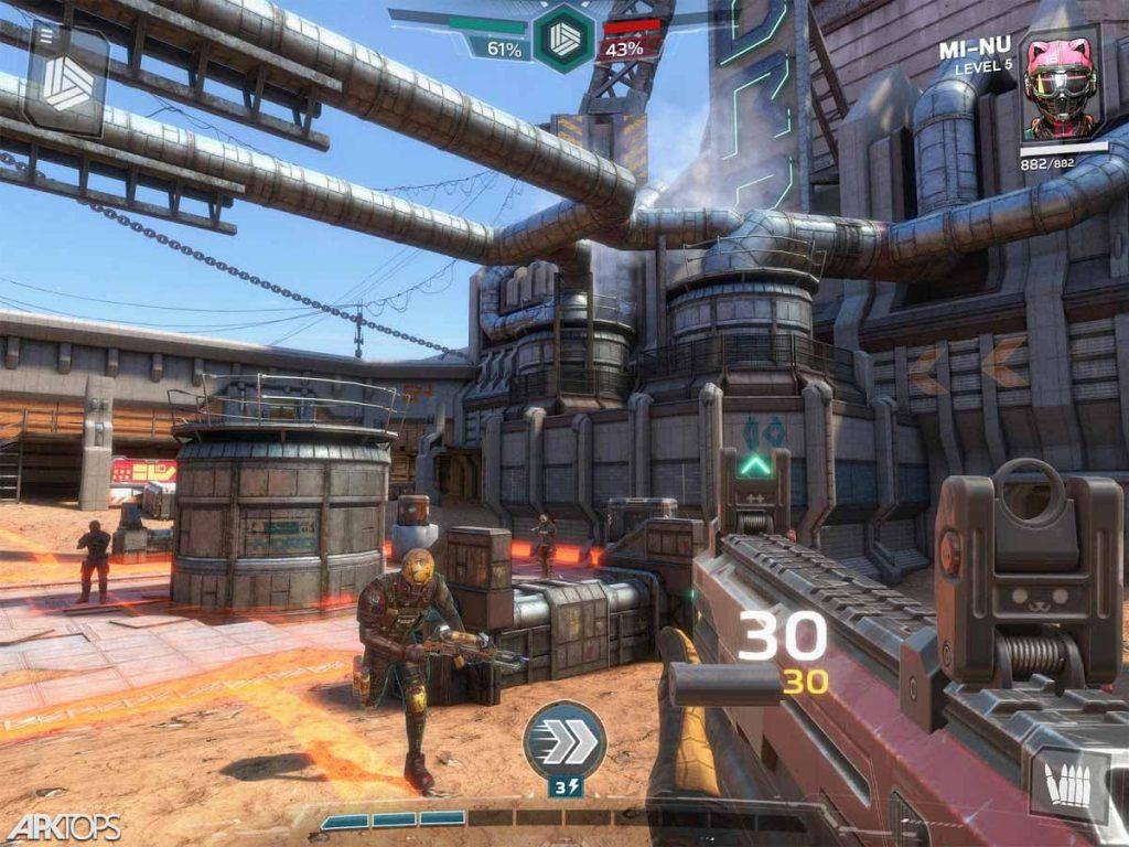 Modern Combat Versus v1.9.8 دانلود بازی مدرن کامبت ورسوس