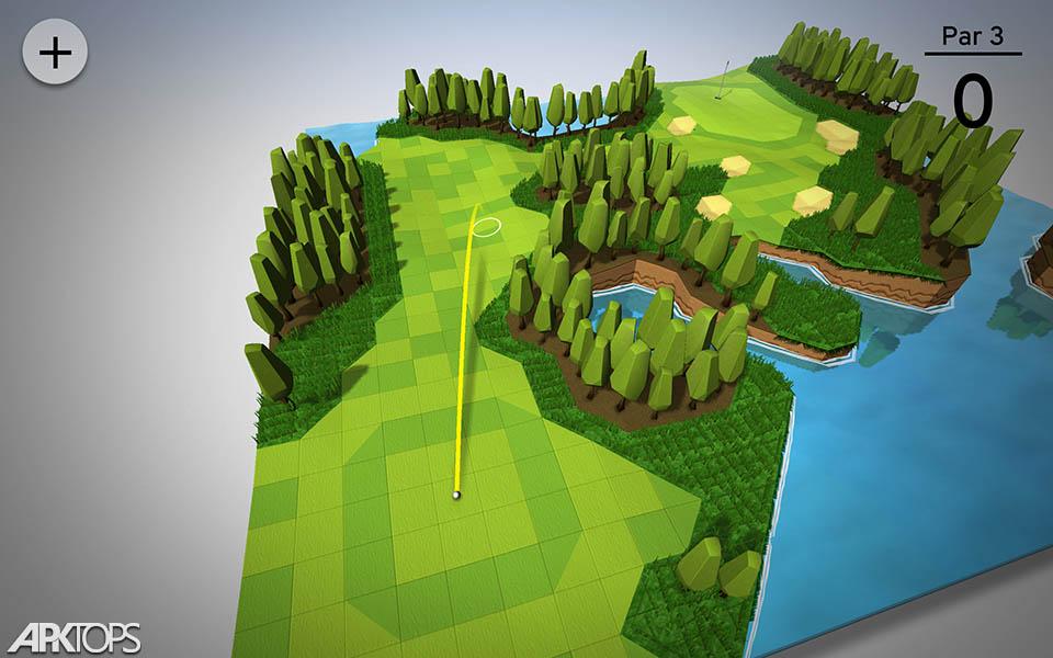 OK Golf v2.3.0 دانلود بازی ورزشی گلف + مود اندروید
