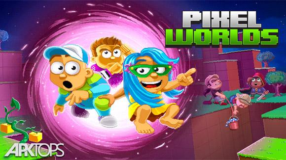 دانلود Pixel Worlds