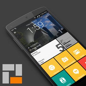 SquareHome 2 - Win 10 style v1.3.5 دانلود لانچر ویندوز 10 برای ...
