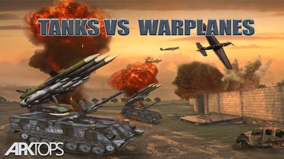 دانلود Tanks vs Warplanes