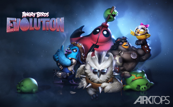 Angry Birds Evolution انگری بردز اولوشن