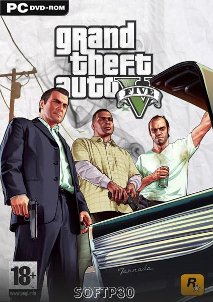 دانلود بازی – Grand Theft Auto V بازی gta v برای کامپیوتر