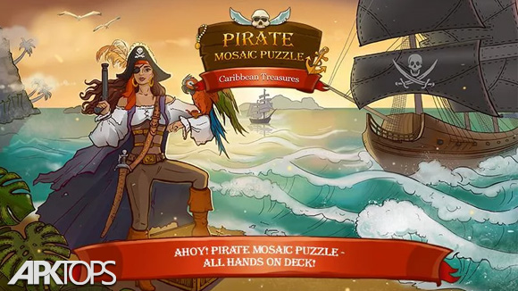 دانلود Pirate Mosaic Puzzle