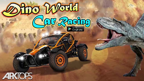 دانلود Dino World Car Racing