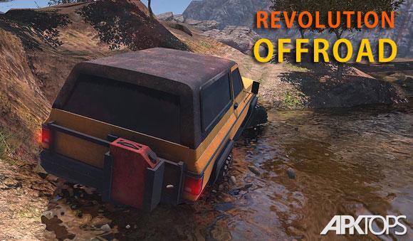 Revolution Offroad دانلود بازی انقلاب ماشین های آفرود + مود برای اندروید