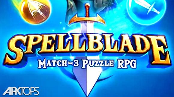دانلود Spellblade: Match-3 Puzzle RPG