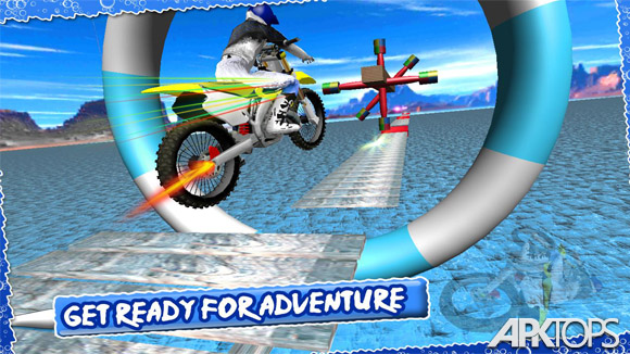 دانلود Wipeout Bike Stunts 3D