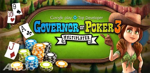 Governor of Poker 3 v3.2.1 دانلود بازی آنلاین فرماندار پوکر