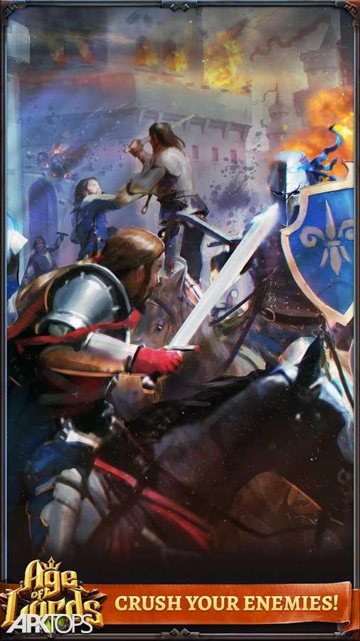 Age of Lords: Legends & Rebels v4.2.1 دانلود بازی عصر خدایان برای اندروید