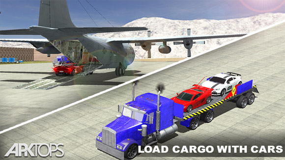 دانلود Airplane Pilot Car Transporter