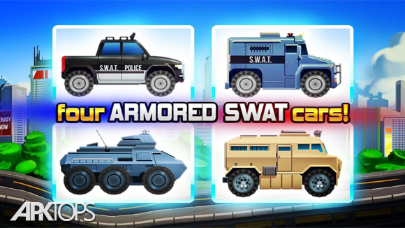 دانلود Elite SWAT Car Racing: Army Truck Driving Game