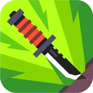 Flippy Knife v1.8.9.8 دانلود بازی اکشن و سه بعدی پرتاب چاقو + مود