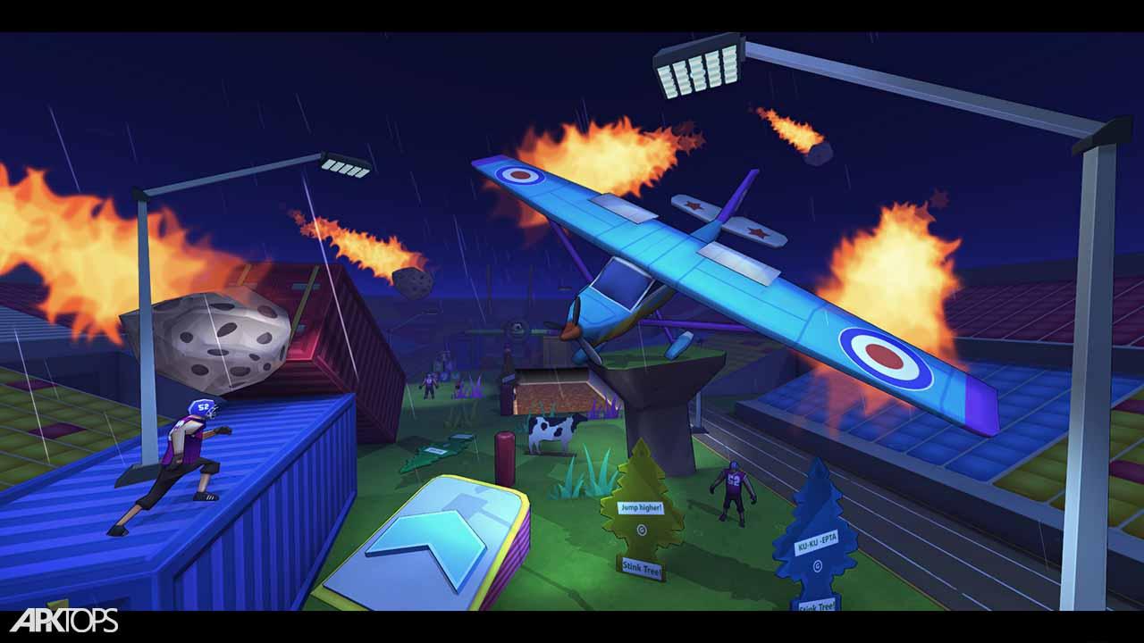 FootRock 2 v4.2 دانلود بازی جنگ فوتبالی 2 برای اندروید