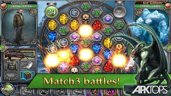 دانلود Gunspell - Match 3 Battles