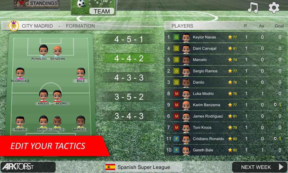 Mobile Soccer League v1.0.18 دانلود بازی لیگ فوتبال برای اندروید