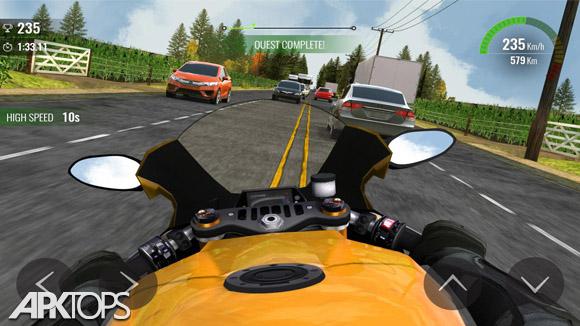 دانلود Moto Traffic Race 2