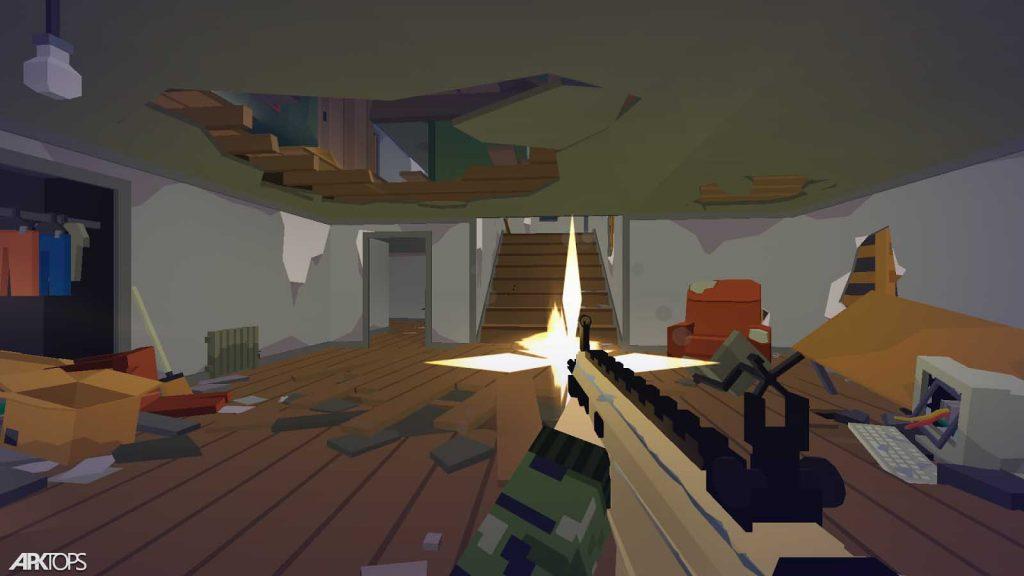 Pixel Combat: Zombies Strike v3.5.4 دانلود بازی پیکسلی اعتصاب زامبی + مود اندروید
