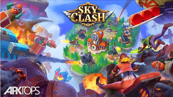 دانلود Sky Clash: Lords of Clans 3D