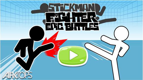 دانلود Stickman fighter : Epic battle