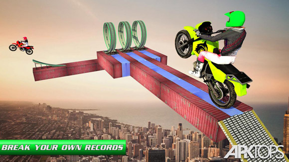 دانلود Stunt Bike Impossible Tracks