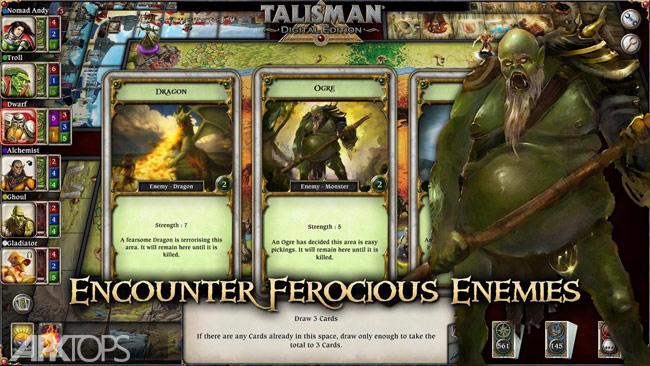 Talisman v21.41 دانلود بازی استراتژیکی قدرت طلسم  ها برای اندروید