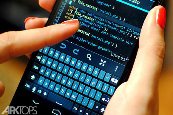 DroidScript - JavaScript Mobile Coding IDE برنامه نویسی جاوا برای اندروید