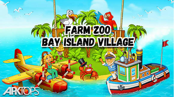 دانلود Farm Zoo: Bay Island Village