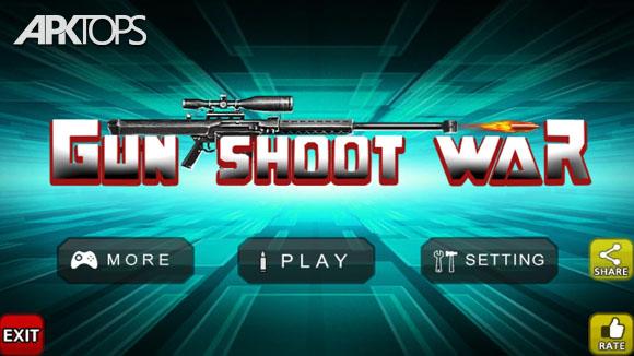 دانلود Gun Shoot War