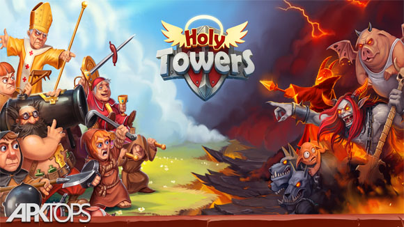 دانلود Holy TD: Epic Tower Defense