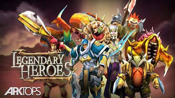 دانلود Legendary Heroes MOBA