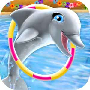 My Dolphin Show v2.38.1 دانلود بازی هنرنمایی دلفین من برای اندروید