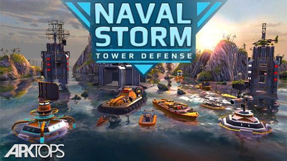 دانلود Naval Storm TD