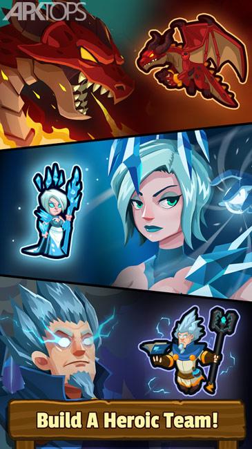 Realm Defense: Hero Legends TD v2.2.9 دانلود بازی دفاع از قلمرو + مود اندروید