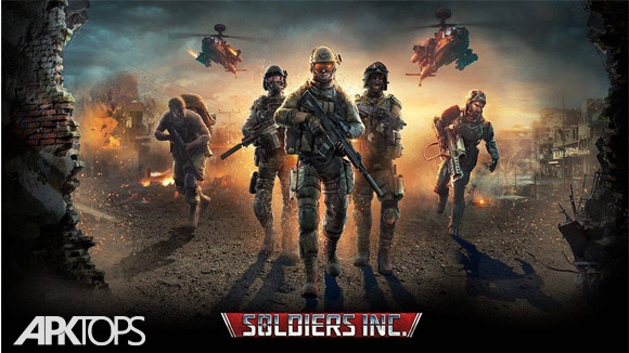 دانلود Soldiers Inc: Mobile Warfare
