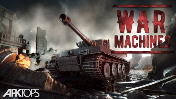 دانلود War Machines: Free Multiplayer Tank Shooting Games