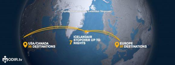 کمپین Icelandair's Stopover Program