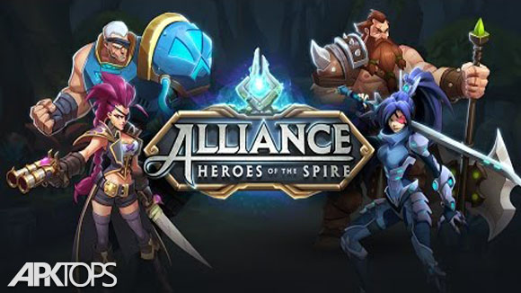 دانلود Alliance : Heroes of the Spire