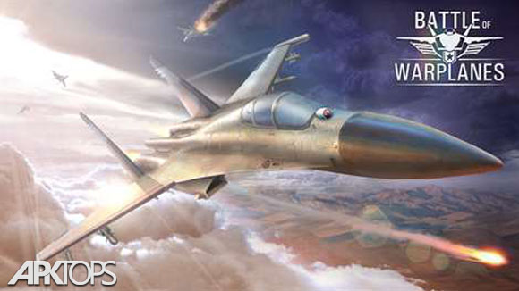 دانلود Battle of Warplanes: Airplane Games War Simulator