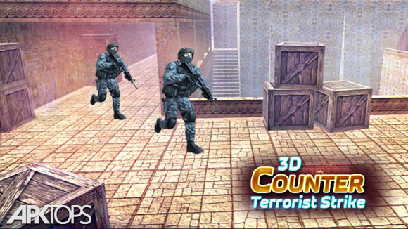 دانلود Counter Terrorist Strike 3D